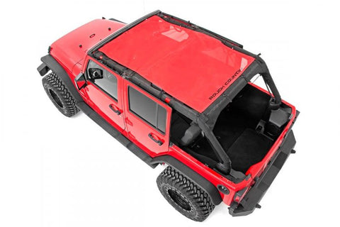 JEEP WRANGLER JK UNLIMITED MESH BIKINI TOP PLUS (07-18 | 4-DOOR)