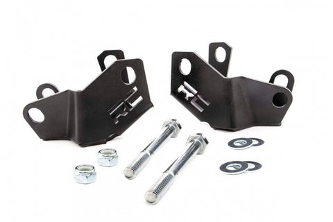JEEP REAR LOWER CONTROL ARM SKID PLATE KIT (18-19 WRANGLER JL)