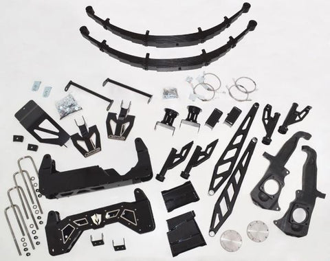 "10"" Premium Black Stainless Steel Lift Kit for 2011-2019 GM Truck 2500/3500 (2WD/4WD, GAS & DIESEL)"