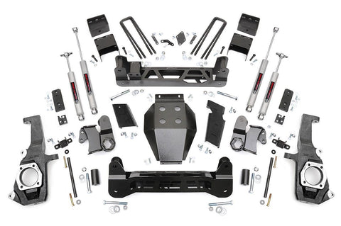5IN GM NTD SUSPENSION LIFT KIT (11-19 2500HD/3500HD)