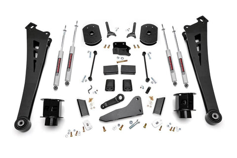 5IN DODGE SUSPENSION LIFT KIT | COIL SPACERS | RADIUS ARMS (14-19 RAM 2500 4WD)