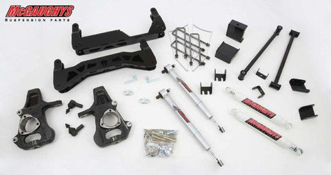 "7""-9"" Basic Black Lift Kit for 2014-2018 GM Truck 1500 (2WD) w/STAMPED STEEL or ALUMINUM FACTORY ARMS"