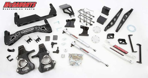 "7""-9"" Premium Black Stainless Steel Lift Kit for 2014-2016 GM Truck 1500 (4WD) w/CAST STEEL FACTORY ARMS"