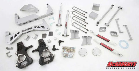 "7""-9"" Premium Silver Lift Kit for 2007-2013 GM Truck 1500 (4WD)"