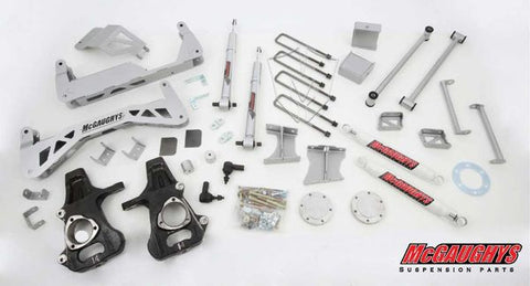 "7""-9"" Premium Silver Lift Kit for 2014-2016 GM Truck 1500 (4WD) w/CAST STEEL FACTORY ARMS"