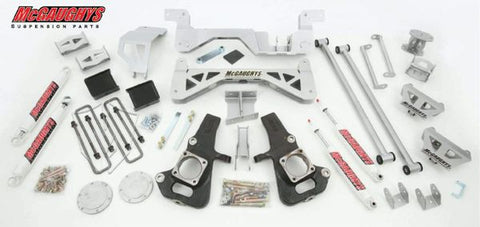 "7"" Premium Silver Lift Kit for 2002-2010 GM 2500 (2WD, Gas Motor)"