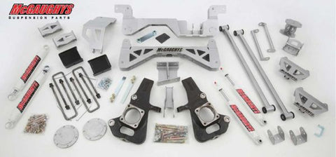 "7"" Premium Silver Lift Kit for 2002-2010 GM 2500 (4WD, Gas Motor)"