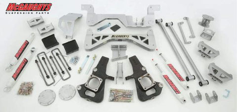 "7"" Premium Silver Lift Kit for 2002-2010 GM 3500 (2WD, Gas Motor)"