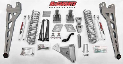 "8"" Premium Silver Lift Kit Phase 2 for 2017-2018 Ford F-250 (4WD)"