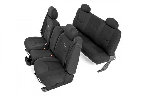 CHEVY NEOPRENE SEAT COVERS | BLACK [99-06 CHEVY 1500]