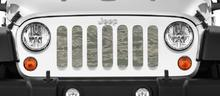 Air Force Tiger Stripe Grille Insert