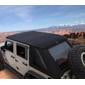 Jeep Wrangler Bushwacker Trail Armor Frameless Fastback Soft Top