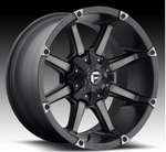 MHT Fuel Offroad Coupler D556 Black & Machined with Dark Tint Wheels