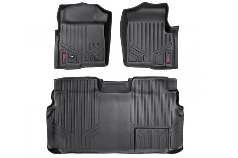 HEAVY DUTY FLOOR MATS [FRONT/REAR] - (11-14 FORD F-150 SUPERCREW CAB)