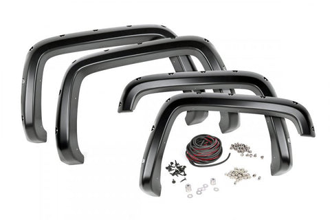 CHEVROLET POCKET FENDER FLARES W/RIVETS (07-14 2500/3500HD)