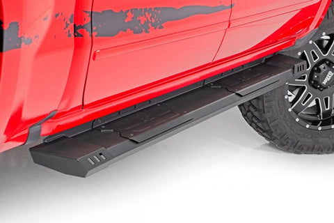 NISSAN HD2 RUNNING BOARDS (04-19 TITAN | CREW CAB)