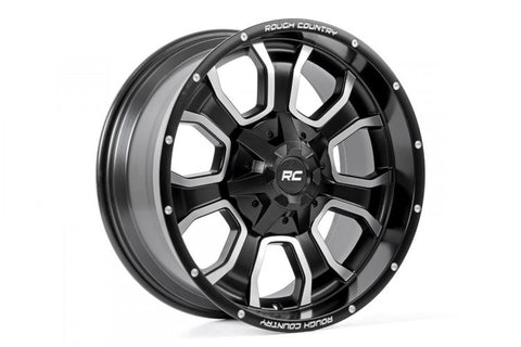 ROUGH COUNTRY ONE-PIECE SERIES 93 WHEEL, 20X9 (6X5.5)