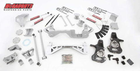 "7"" Premium Silver Lift Kit for 1999-2006 GM Truck 1500 (4WD)"