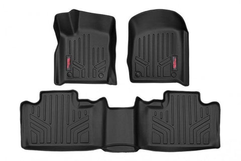 HEAVY DUTY FLOOR MATS [FRONT/REAR] - (13-16 JEEP GRAND CHEROKEE WK2)