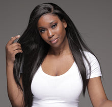 Load image into Gallery viewer, Virgin Brazilian Straight Undectable Full Lace Wig