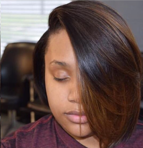 Ombre 1B/8 Lace Frontal Bob Wig