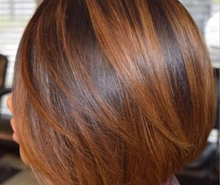 Load image into Gallery viewer, Ombre 1B/8 Lace Frontal Bob Wig