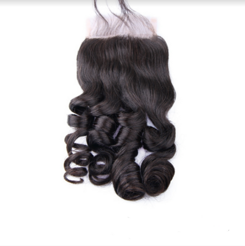 Raw Virgin Brazilian Loose Wave Human Hair Closure
