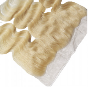 Blonde Brazilian Frontal Body Wave Human Hair Extension