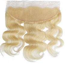 Load image into Gallery viewer, Blonde Brazilian Frontal Body Wave Human Hair Extension