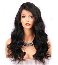 Load image into Gallery viewer, 360 Lace Frontal Virgin Brazil Body Wave Human Hair Wig