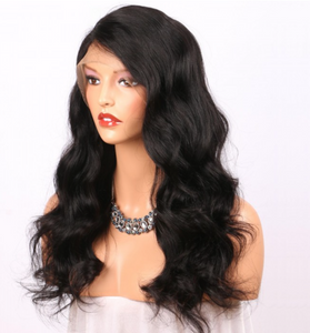 360 Lace Frontal Virgin Brazil Body Wave Human Hair Wig