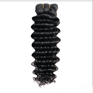 Raw Virgin Brazilian Deep Wave Human Hair Bundles