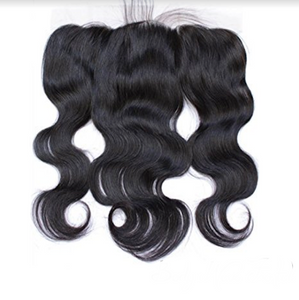 Raw Virgin Brazilian Body Wave Human Hair Frontal