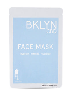 CBD Face Mask from BLYN CBD. Promotes hydration, refreshing and revitalizing.