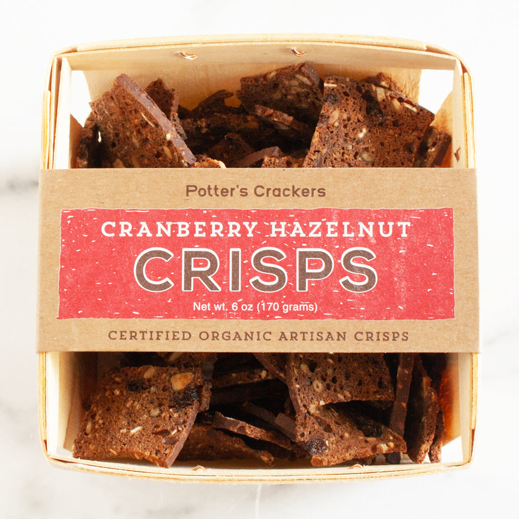 Cranberry Hazelnut Crisps in Farm Crate