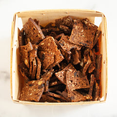Cranberry Hazelnut Crisps in Farm Crate_Potter's Crackers_Pretzels, Chips & Crackers