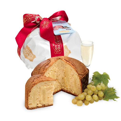 Panettone with Prosecco - Hand Wrapped