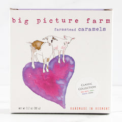Farmstead Goat Milk Caramels in Heart Box_Big Picture Farm_Candy