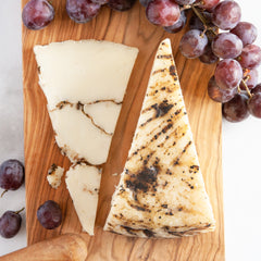 Central Brand Moliterno Black Truffle Pecorino Cheese_Cut & Wrapped by igourmet_Cheese