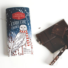 Candy Cane Crunch Chocolate Bar - igourmet