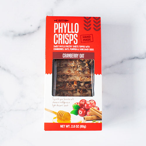 Cranberry Oat Phyllo Crisps_Nubake_Cookies & Biscuits