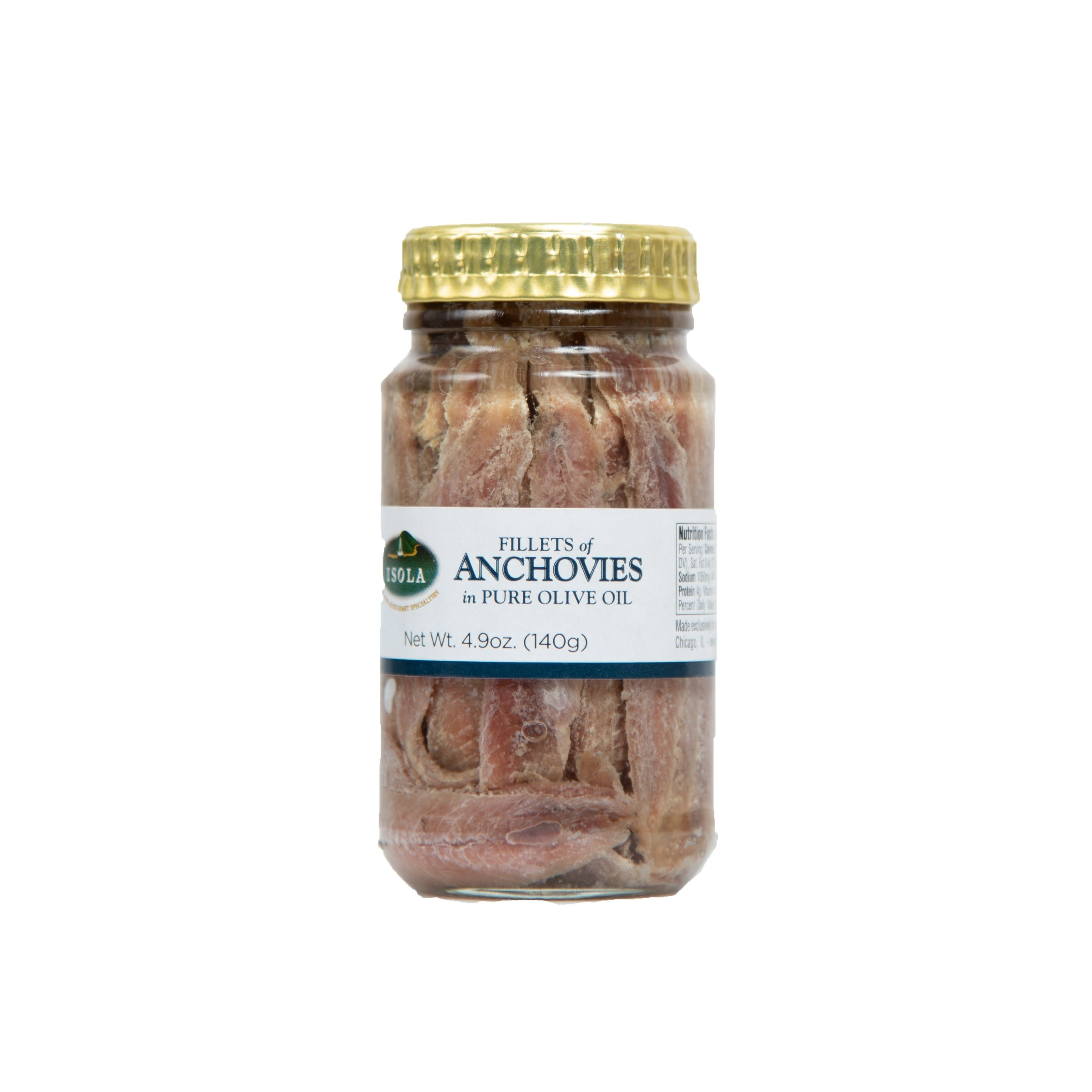 Fillets of Anchovies in Pure Olive Oil