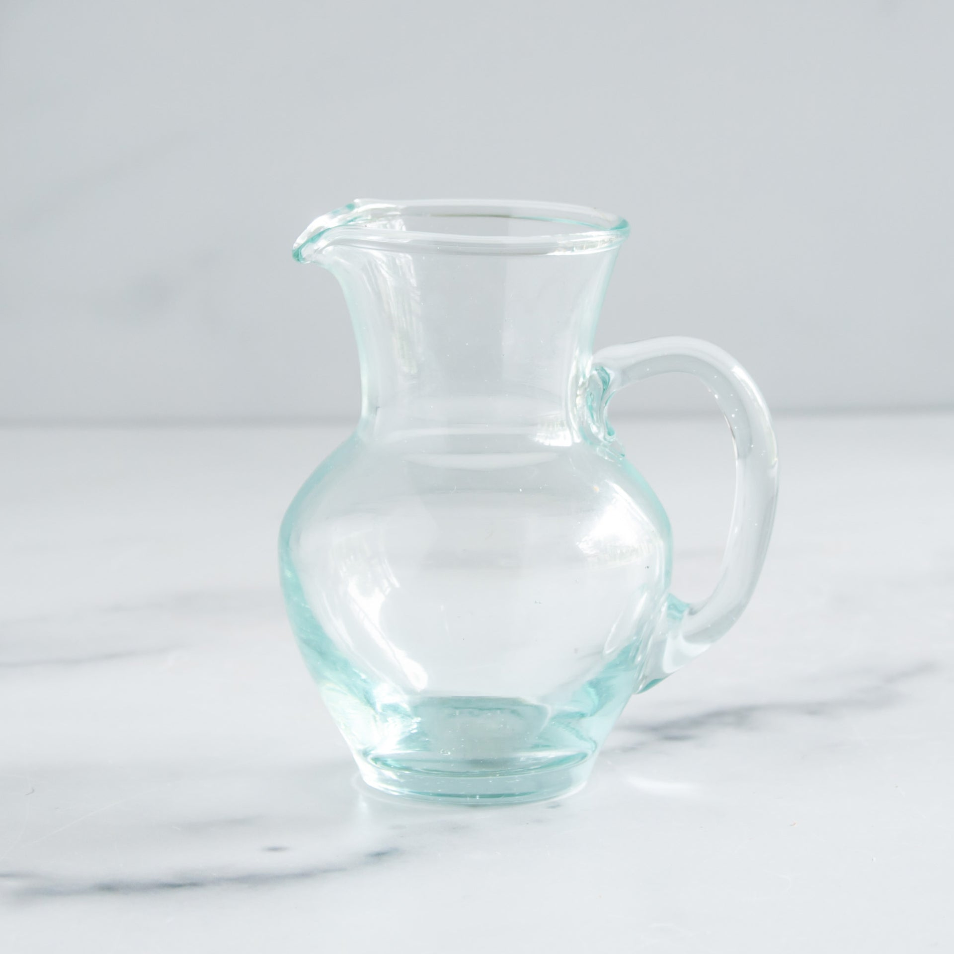 Recycled Glass Pitcher - Mini