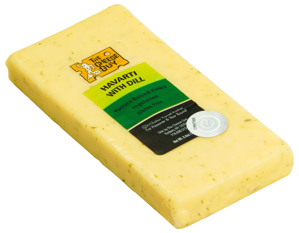 Kosher Havarti Cheese with Dill_The Cheese Guy_Cheese