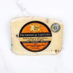 Kosher Pecorino Tartufo Cheese_The Cheese Guy_Cheese