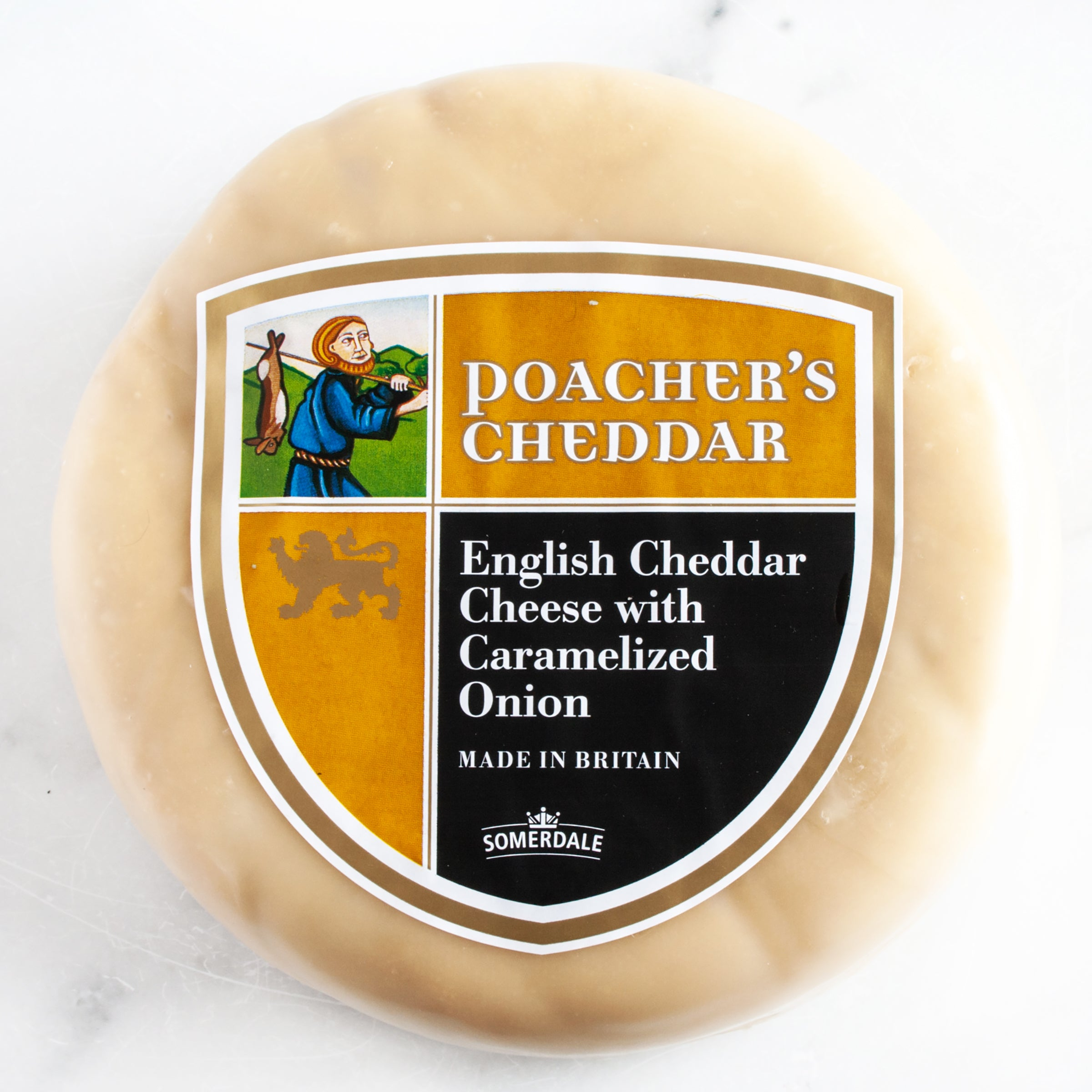 Poacher's Cheddar Cheese with Caramelized Onions_Cut & Wrapped by igourmet_Cheese