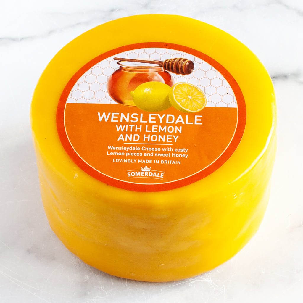 Wensleydale Cheese with Lemon and Honey