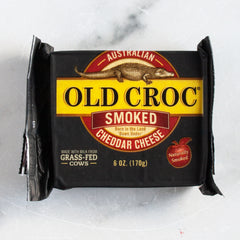 Smoked Sharp Australian Cheddar Cheese_Old Croc_Cheese