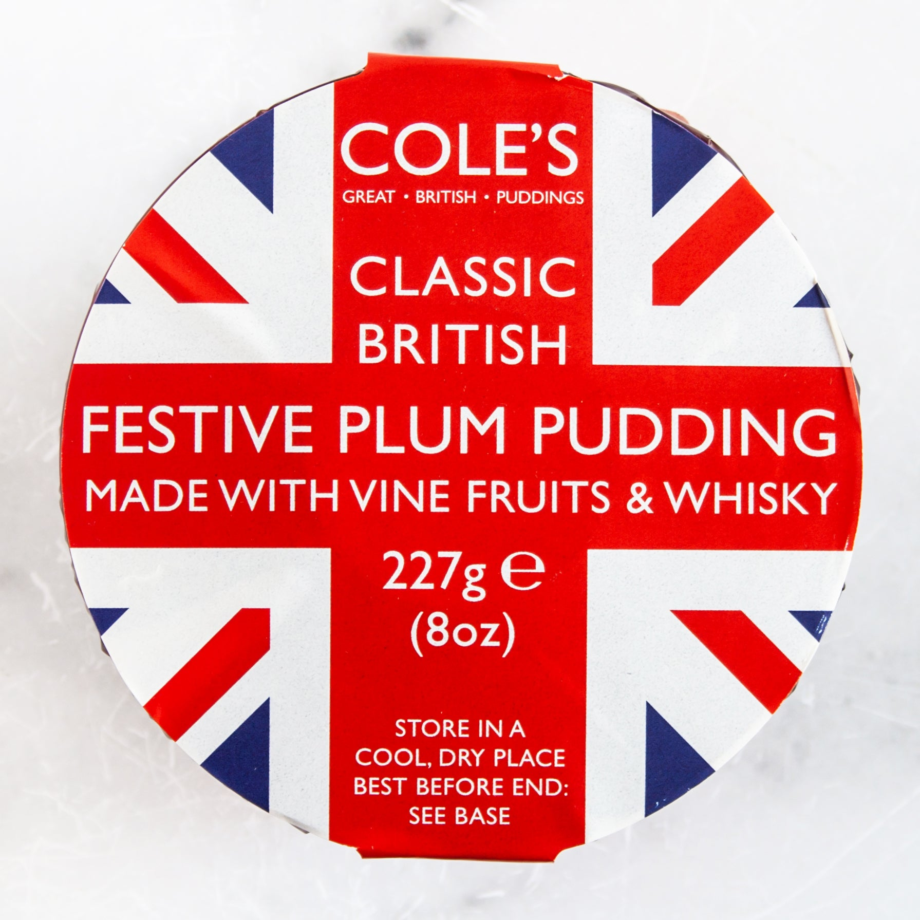 Festive Plum Pudding with Whisky