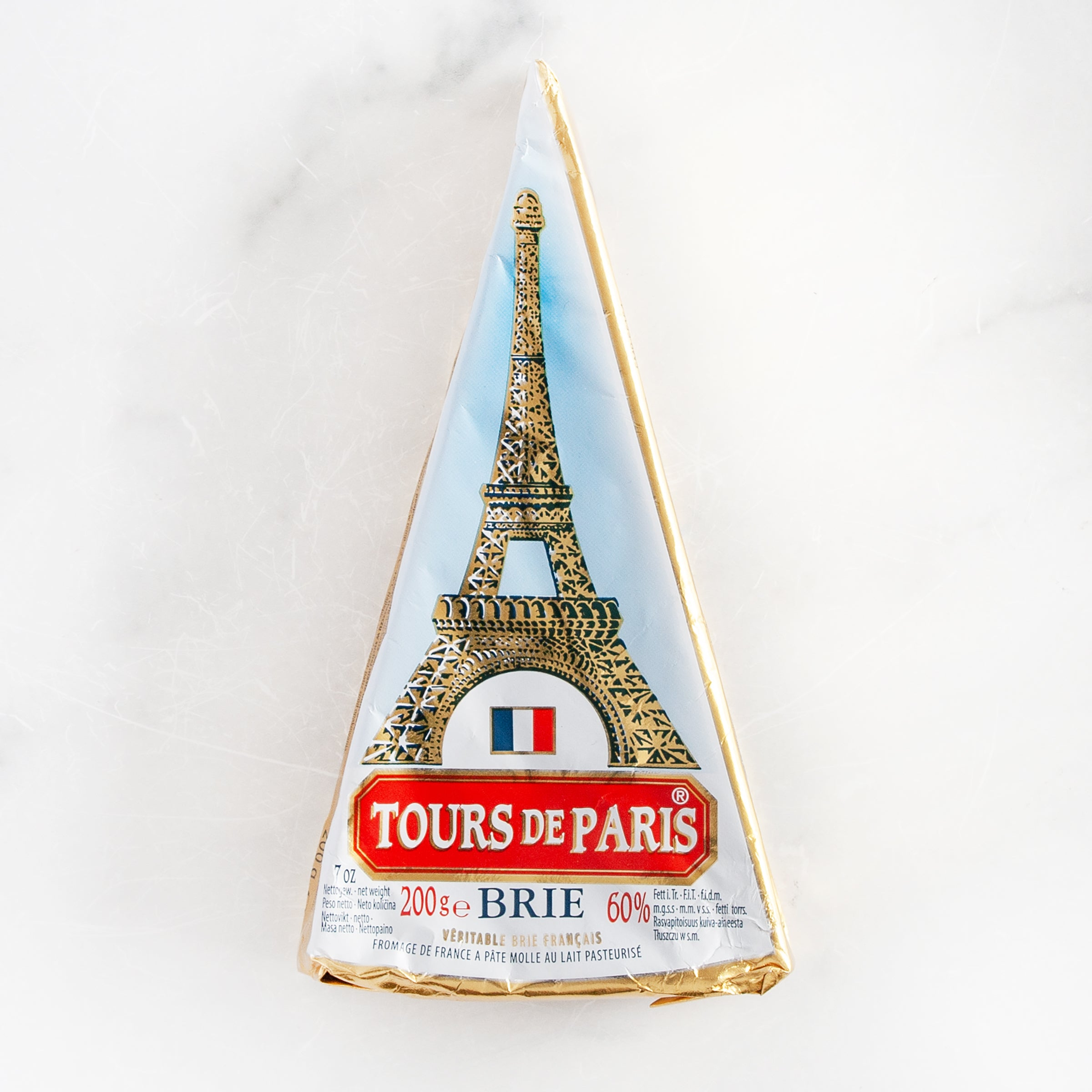 Tour de Paris Brie Cheese Wedge